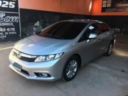 Honda Civic Lxl AutomaticoTop de Linha Zerado - 2013