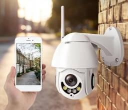 Mini Speed Dome IP Wifi com Suporte