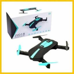 Drone Tira Selfie Jy018 De Bolso 2mp CameraNovo!!