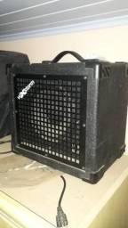 Caixa amplificadora de som para instrumento cubo bass