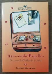 """Livro """"Através do Espelho"""" de Jostein Gaader"""
