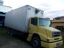 MB 1218/97 Truck, Baú Randon 8 m,Primeira - 1997