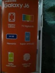 Galaxy J6 64 Gb Preto, Novo Com Nota Fiscal
