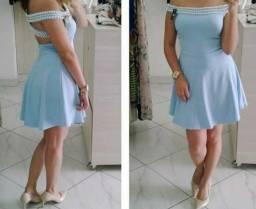 Vestido Céu Azul