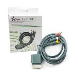 Cabo AV para Xbox 360 Audio e Vídeo RCA Xbox 360 Componente - Loja Natan Abreu