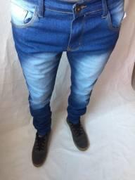 Calça jeans masculina com elastano e calça destroyed rasgada