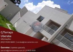 Sobrado a venda no Uberaba, 3 quartos sendo 1 suíte, terreno, 2 vagas, condomínio 50,00, n