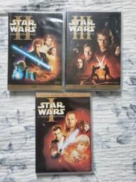 Star Wars - trilogia prequel - dvds duplos