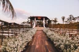 Espaço com dormitório fazenda por do sol aluguel para casamento e aniversários