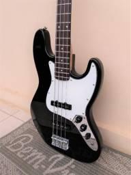 Baixo Squier Jazz Bass Standard Made in Korea 1995 Revisado