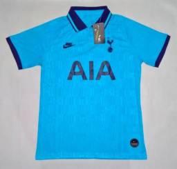 Camisa Tottenham Third 19/20 s/nº - Nova - Pronta Entrega