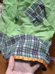Fantasia infantil tamanho G - Bruxa camponesa