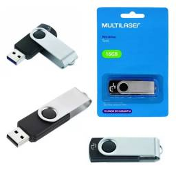 Pen Drive Twist 16GB Usb 2.0 Multilaser