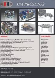 Desenhos Técnicos e Projetos Diversos