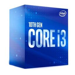 Processador 1200 Intel 10ª Geração Core I3-10100, Cache 6Mb, 3.60 Ghz, Max Turbo 4.30 Ghz