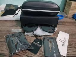 Óculos kingseven preto e azul (promoção)