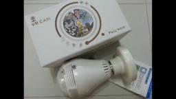 Lâmpada Câmera Led Segurança 360° Wifi