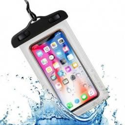Capa a Prova D'Água para Celular Com Braçadeira - D18