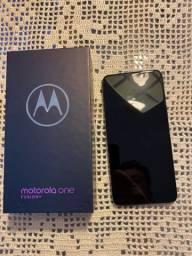 Moto One Fusion + (não aceito trocas)