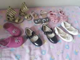 Roupas e sapatos