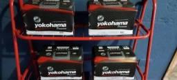 Título do anúncio: Baterias Yokohama 70ah novas