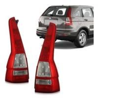 Par Lanterna Traseira Canto Honda CRV 2007 2008 09 2010 2011