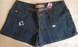 Shorts saia novos de loja que fechou - anunciando p uma amiga
