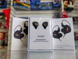Kz Edx Sem Microfone + Case Kz Original Monitor De Palco