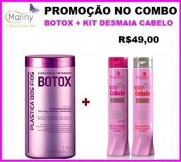 Kit Desmaia cabelo + btoxx