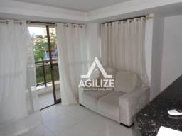 Título do anúncio: Flat com 1 dormitório para alugar, 46 m² por R$ 1.200/mês - Glória - Macaé/RJ