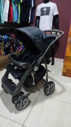 Título do anúncio: Carrinho de bebê semi novo unissex R$ 350,00 (Burigotto)