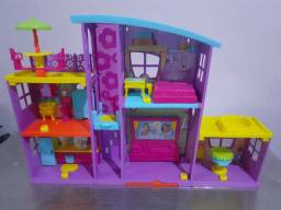 Título do anúncio: Mega casa de surpresas da Boneca  Polly Pocket