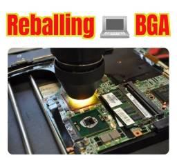 Placa de Vídeo e Placa mãe, Recuperação ou Reballing BGA ou Regravação de Bios