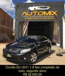 Título do anúncio: Corolla GLI 2011 automatico segundo dono