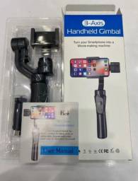Gimbal 3 eixos estabilizador de vídeo para celular