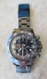 Título do anúncio: Relógio Invicta Original de quartzo cronógrafo de aço inoxidável de 45 mm (modelo: 14879)