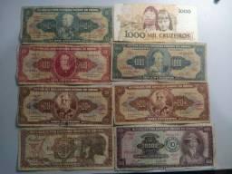 20 Nota Dinheiro Cédulas  Antigo