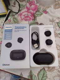 Título do anúncio: Vendo Fone Bluetooth Philips (5 dias de uso)