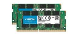 Crucial 32GB Kit (2x16GB) DDR4 2666MHz SODIMM Laptop Memory
