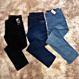 Calças jeans -  preta, jeans claro, jeans escuro
