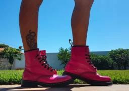 Coturno Original Doc Martens Pink