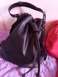 Bolsas e maleta de maquiagem