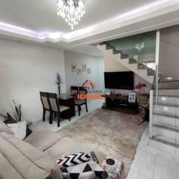 Casa para venda tem aproximadamente 100 m² e com 3 quartos