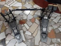 Título do anúncio: Pedal duplo pra bateria