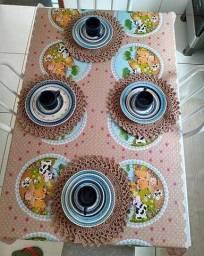 Crochê e bordados