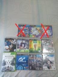 Vendo a unidade  Jogos original de PS3 e um de  Xbox 360 funcionando perfeitamente
