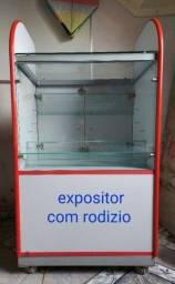 Título do anúncio: Expositor de vidro.