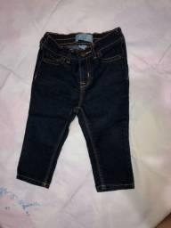 Calça jeans infantil, GAP, 6-12 meses