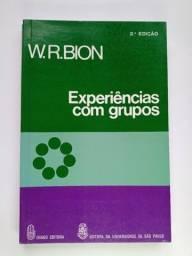 Título do anúncio: BION - Experiências com grupos - livros universitários Psicologia/ Pedagogia - Raridade