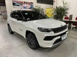 Título do anúncio: Jeep Compass 1.3 T270 Serie S AT 2022, Zero km, A Pronta entrega, emplacado com Ipva Pago